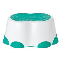 Step Stool White Aqua copy