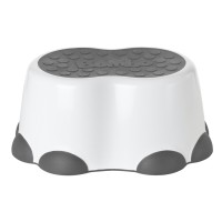 Step Stool White Gray - kopie